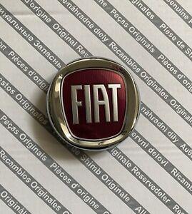Fregio-Emblema-Logo-Fiat-Rosso-Anteriore-95mm-ORIGINALE