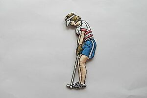3094-Lady-Golfer-Outline-Golf-Embroidery-Iron-On-Applique-Patch