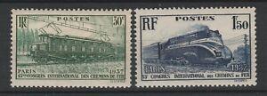 FRANCOBOLLI-1937-FRANCIA-FERROVIE-C-30-1-50-FR-MNH-E-1512