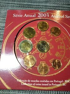 Coffret série monnaies euro Portugal 2003 BU