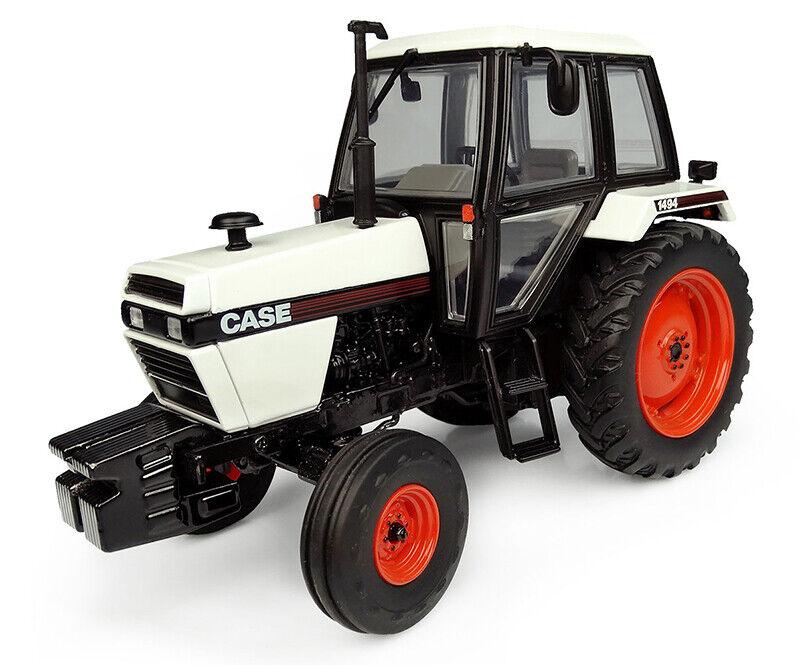 4280 Universal Hobbies 1983 caso 1494 Tractor Escala 1 32 en Caja 2wd