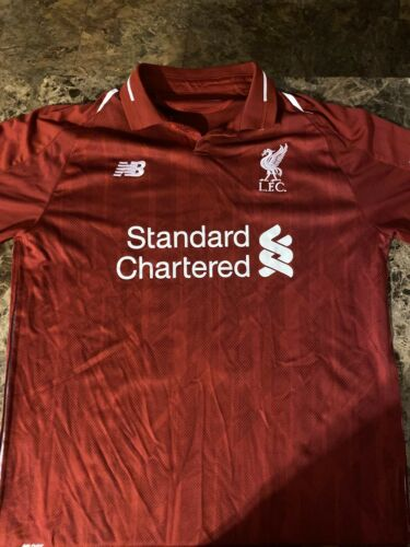 Mohammed Salah 2018 Liverpool Jersey