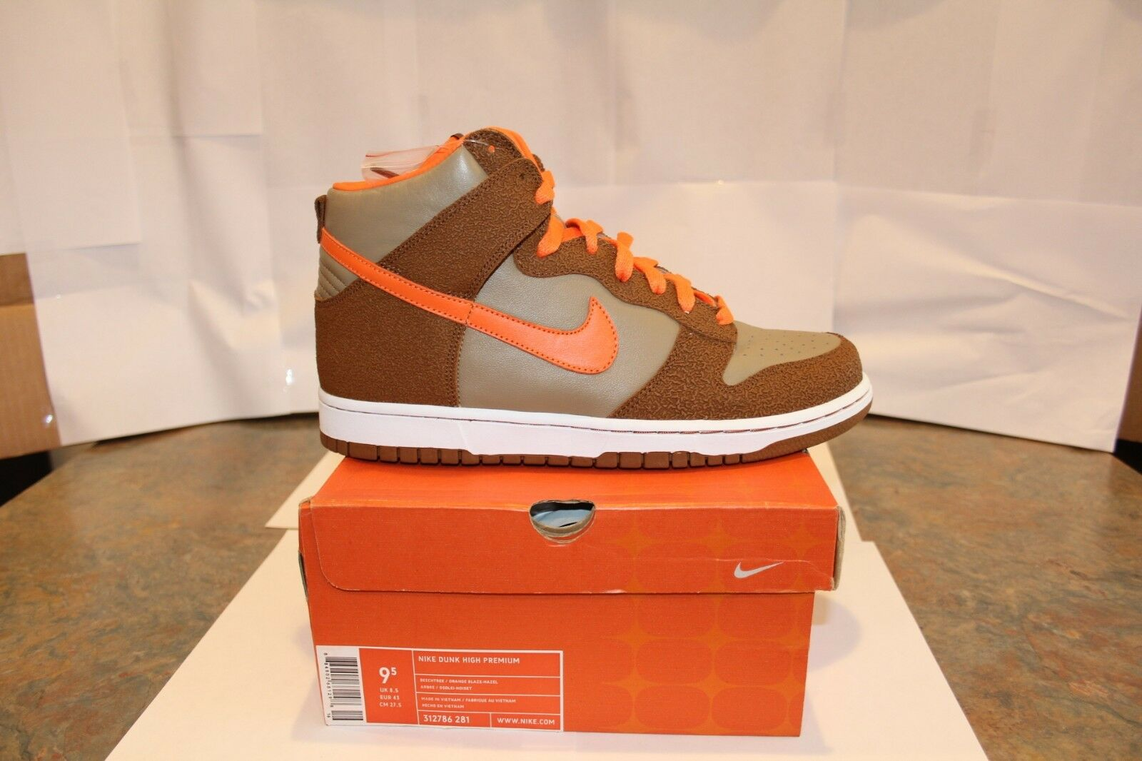 Nike dunk hohen premium - - beechtree 9,5 - - kasten!!!!!!!! e99483