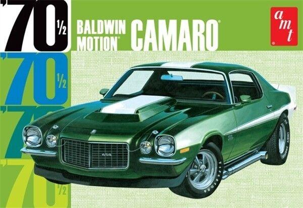 2014 AMT 854 BALDWIN MOTION 1970 1 2 CAMARO DUAL COLOR Model KIT (white)