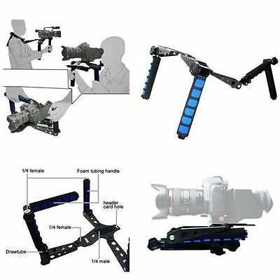 DSLR Rig Movie Kit Shoulder Rig Mount, Shoulder Support Pad for Video Camcorder