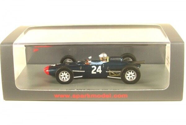 Lola Mk4 No.24 Gp de Grande Bretagne Formule 1 1963 (John Campbell-Jones) | être Nouvelle Dans La Conception  | Commandes Sont Les Bienvenues  | La Qualité  | Des Styles Différents