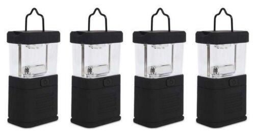 Lot of 4 Portable Mini 11 LED Bright Camping Fishing Boating Hiking Lantern Lamp