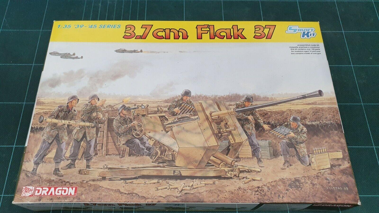 drake 6483 3.7Cm Flak 37 Smkonst Kit