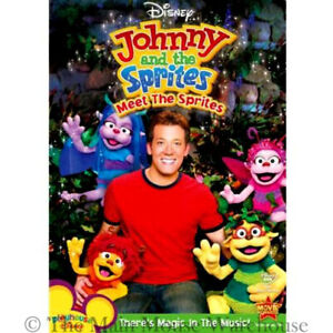 Details about Playhouse Disney Johnny and the Sprites Magic in Music Kids  Children TV Show DVD