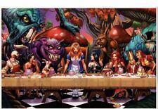 1A 2017 NM Stock Image Wonderland Birth of Madness Zenescope