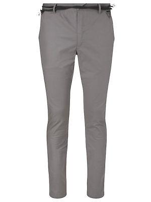 W34 L32 Eleven Paris Chaplin Casual Slim Trouser Bnwt Verpackung Der Nominierten Marke Ash