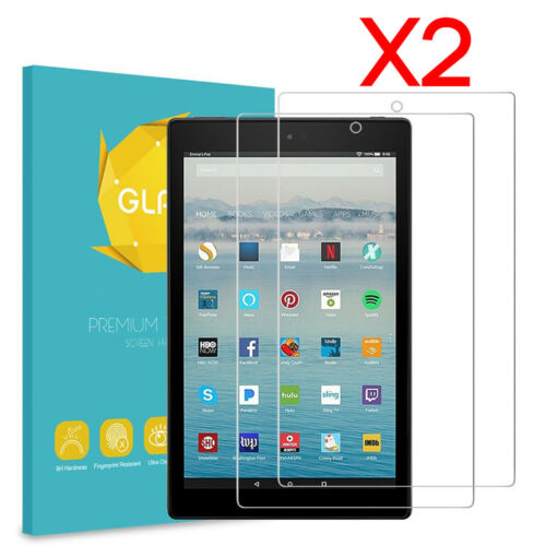 Amazon Fire HD 10 7th Generation 2017 Tempered Glass Screen Protector 2 Pack