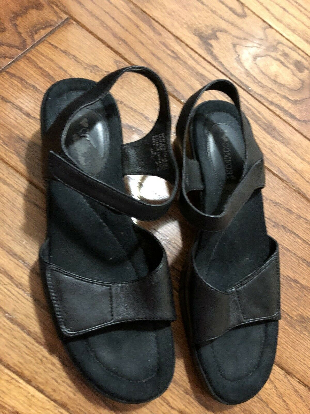 Franco Sarto Wedge Heel Sandals - sz 9.5M - Great Pre-owned Condition!
