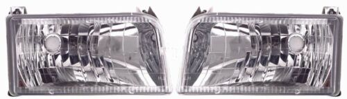 New Crystal Headlight PAIR FOR 2000 2001 2002 Fleetwood Bounder RV