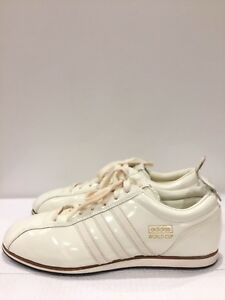 Adidas-World-Cup-039-66-Samba-Ivory-Patent-Leather-Sneakers-Runners-Shoes-Size-12
