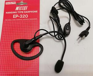 Audio Micro Auricular Con Ptt Oreja, Para Portátiles Phz. Kep 300ya
