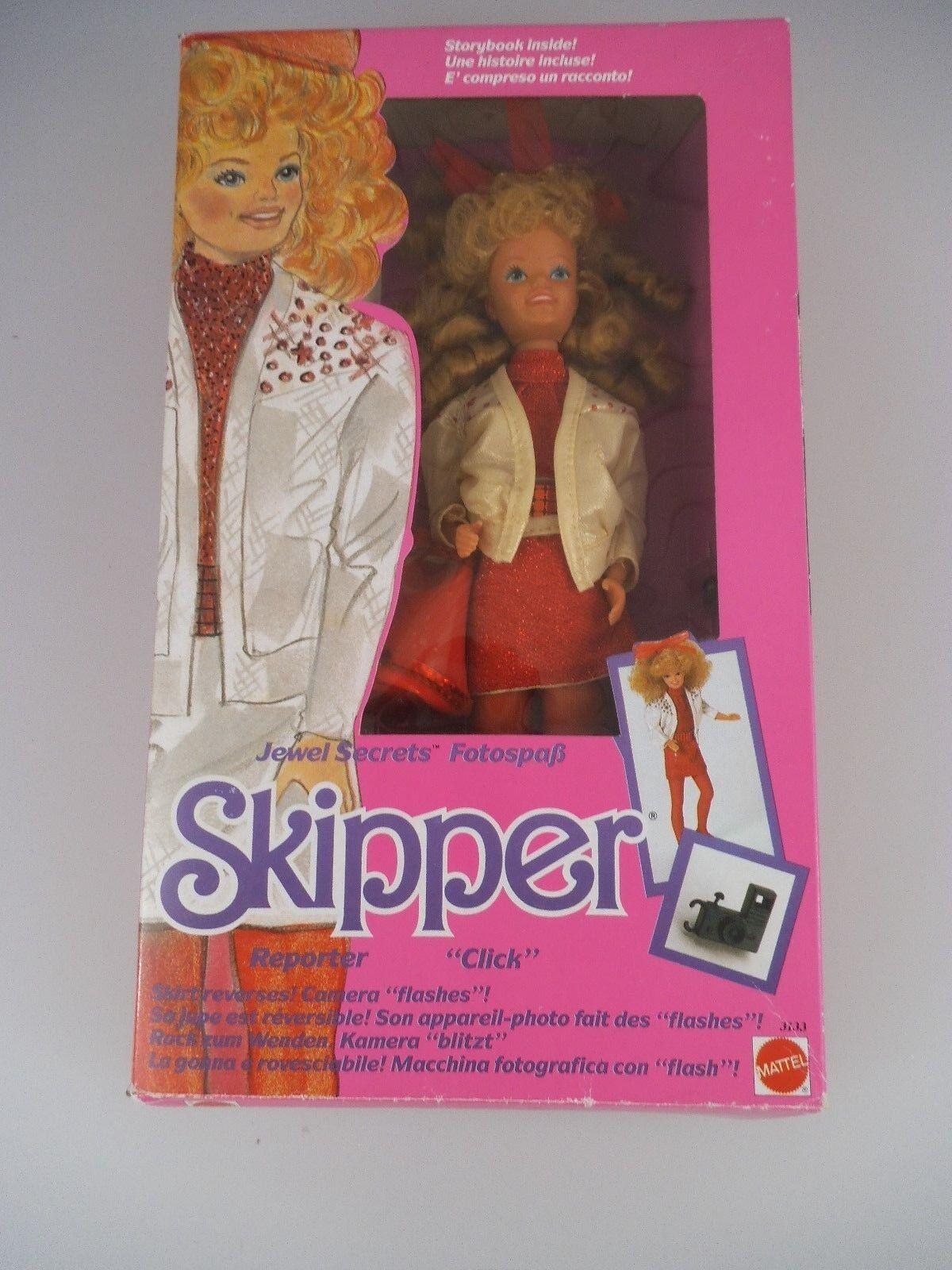 Barbie 3133 Jewel Secrets Skipper mattel 1986 (1958)