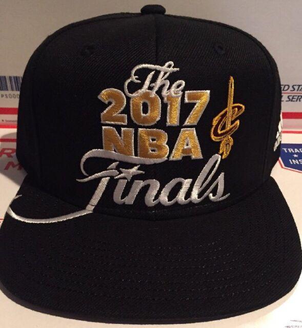 c4dfd8cea7e Cleveland Cavaliers 2017 NBA Finals Adidas Mens Snapback Hat Adjustable NWT