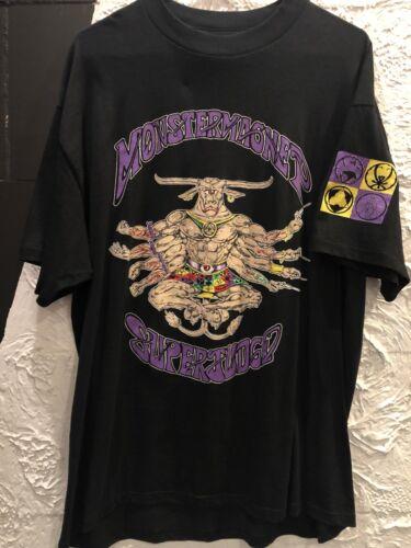 Vintage 1993 Superjudge Monstermagnet Concert Tour