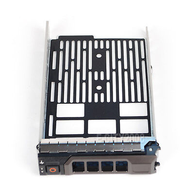 "New 3.5/"" SAS SATA Hard Drive Tray Caddy For Dell PowerEdge R710 Ship From USA"