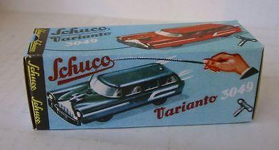 Repro Box Schuco Varianto Station Car 3049 Schrecklicher Wert Spielzeug Blechspielzeug