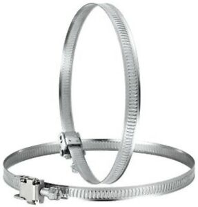 Jubilee clip 100mm, Hose clip, Ventilation, Hydroponic's, PU flex, ducting, vent