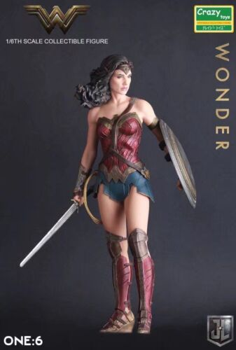 CRAZY TOYS 1//6TH SCALE COLLECTIBLE JUSTICE LEAGUE WONDER WOMAN FIGURE NEW IN BOX