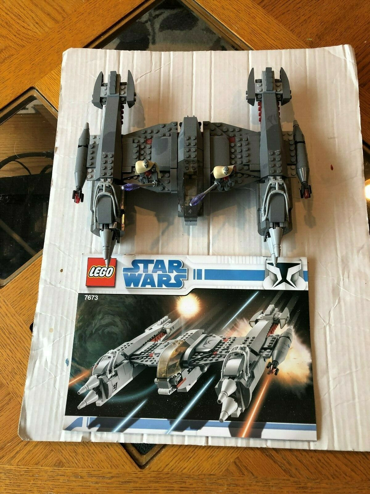 Lego Star Wars MagnaGuard Starfighter (7673) - Complete Complete Complete Set W Instruction No Box 102ba1