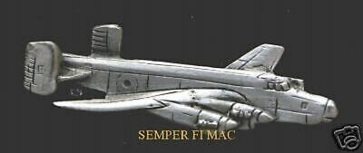 HALIFAX BOMBER RAF PEWTER PIN