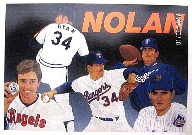 Nolan Ryan 4 Teams1990 Upper Deck Baseball Heroes Card1818brand Newmrare