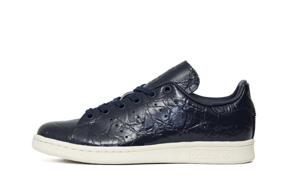 adidas originals frauen ist stan smith bb5163 patent 4 blau cremefarbene sz - 4 patent - 11 a0d14e