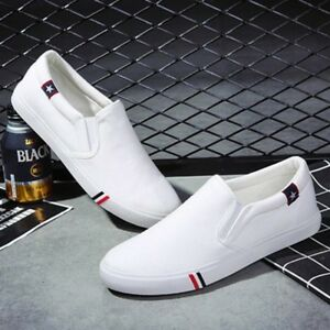 Eg-Cool-Uomo-No-Stringhe-per-Scarpe-Mocassini-Tempo-Libero-Slip-On-Tela-Casual