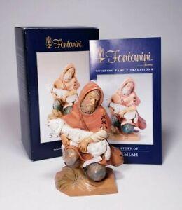 "VTG FONTANINI Nativity Figurine 5"" Scale JEREMIAH ITALY 148 ROMAN,INC 1993"