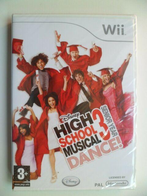 High School Musical 3: Senior Year Dance (Nintendo Wii, 2008) NEW & SEALED