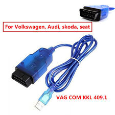OBD2 VAG-COM KKL 409.1 USB Cable Autos Scanner Diagnostic Tool For Audi VW SEAT
