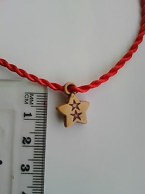 Chinese Feng Shui Charm Bracelet 'Lucky Twin Stars' Love Blessing Present Gift