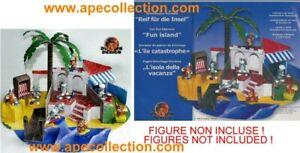 Kinder-Raro-Diorama-Aleman-Set-Tom-amp-Jerry-2003-Isla-Vacaciones-De-Construir