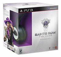 Saints Row: The Third - Platinum Pack W/ Headset [playstation 3 Ps3]
