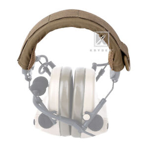 Krydex Modular Headset Cover Tactical Headband Protection MOLLE Coyote Brown