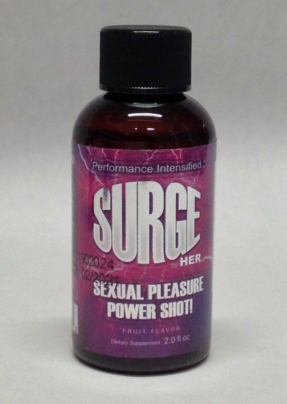 Surge Sexual Pleasure Power Shot For Her 2oz Fruit Ginseng