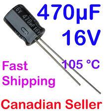 5pcs 470uF 16V 8x11.5mm 105 °C Nichicon VZ For PC TV AUDIO VIDEO TFT ACL LCD DVD