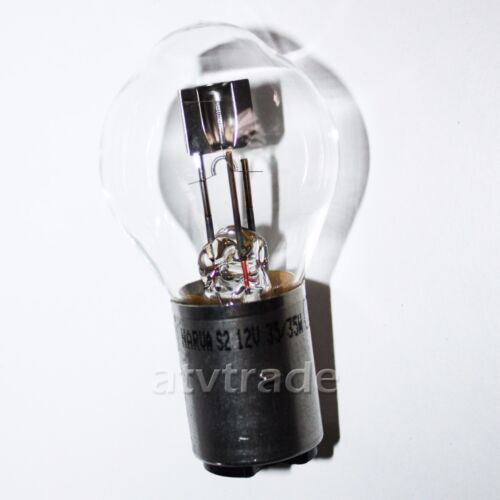 35W BA20D S2 Birne Lampe Glühbirne Glühlampe Bashan 200 250 Quad Narva 12V 35