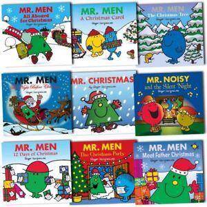 Mr-Men-Christmas-Childrens-Collection-10-Books-Set-Pack-New-Gift-Mr-Christmas