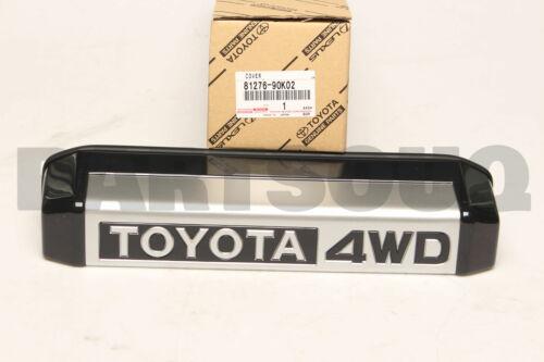 8127690K02 Genuine Toyota COVER LICENSE PLATE LAMP 81276-90K02