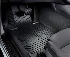 Bmw Car Mats Ebay >> Bmw Oem Black Rubber Floor Mats 2014 2017 535i 550i Gran Turismo