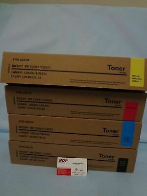 M C2551 Cyan Works with: Aficio MP C2051 On-Site Laser Compatible Toner Replacement for Ricoh 841503