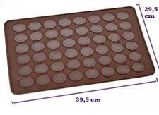 2 Stk. MACARON Silikon Backmatte Backform Form Kuchen Fondant Keks SC92