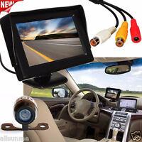 170° 4.3''LCD Car Rear View Backup Monitor+Wireless Parking Night Vision Camera