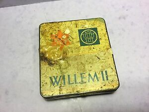 Willem-11-cigarillos-No30-tin-Holland-poor-condition-UKPost-1-00-world-5-00