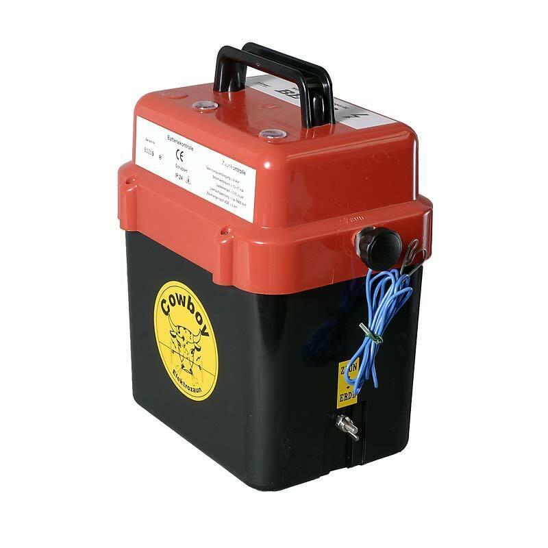 Weidezaun Batteriegerät Eider BE 300 - Elektrozaun Akku Zaun Batterie